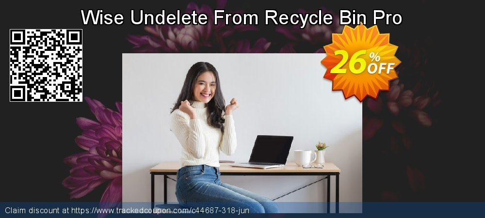 Get 25% OFF Wise Undelete From Recycle Bin Pro offering deals