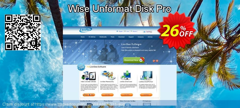 Wise Unformat Disk Pro coupon on US Independence Day offering sales