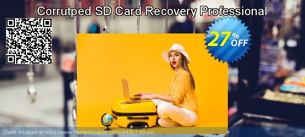 Get 25% OFF Corrutped SD Card Recovery Professional offering deals