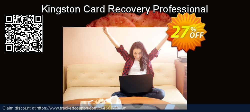 Get 25% OFF Kingston Card Recovery Professional deals