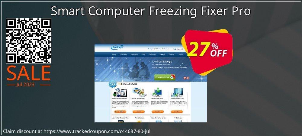 Get 25% OFF Smart Computer Freezing Fixer Pro offering deals