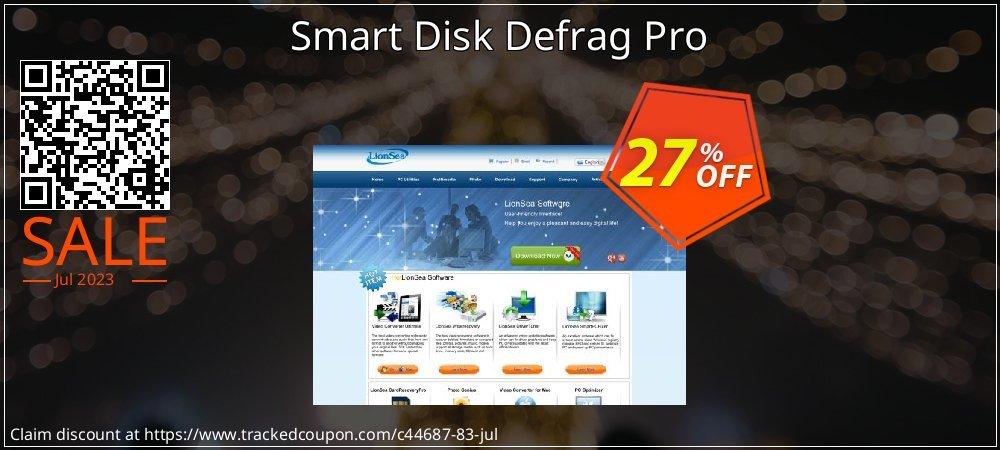 Get 25% OFF Smart Disk Defrag Pro offering sales
