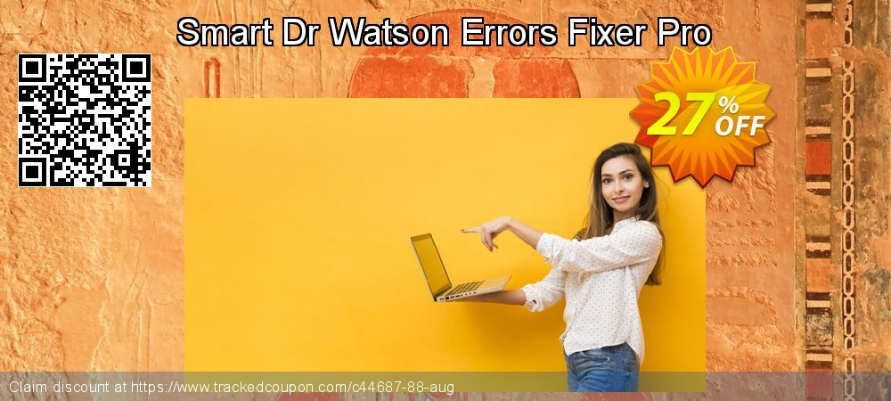 Get 25% OFF Smart Dr Watson Errors Fixer Pro offering sales