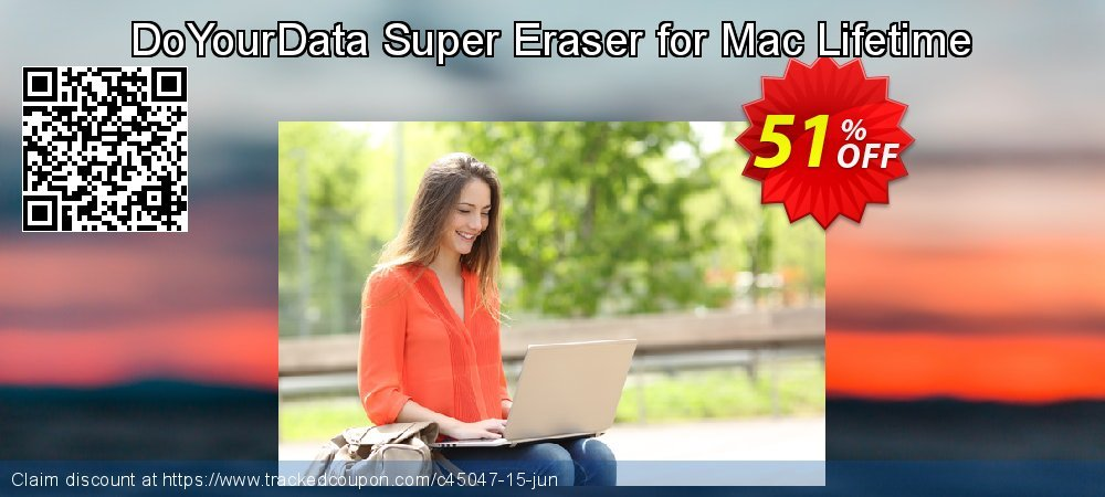 DoYourData Super Eraser for Mac Lifetime coupon on Father's Day super sale