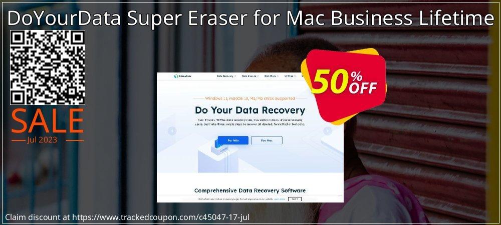 Get 50% OFF DoYourData Super Eraser for Mac Business Lifetime offering sales