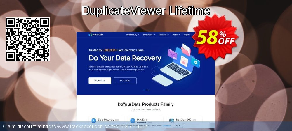 DuplicateViewer Lifetime coupon on Halloween offer