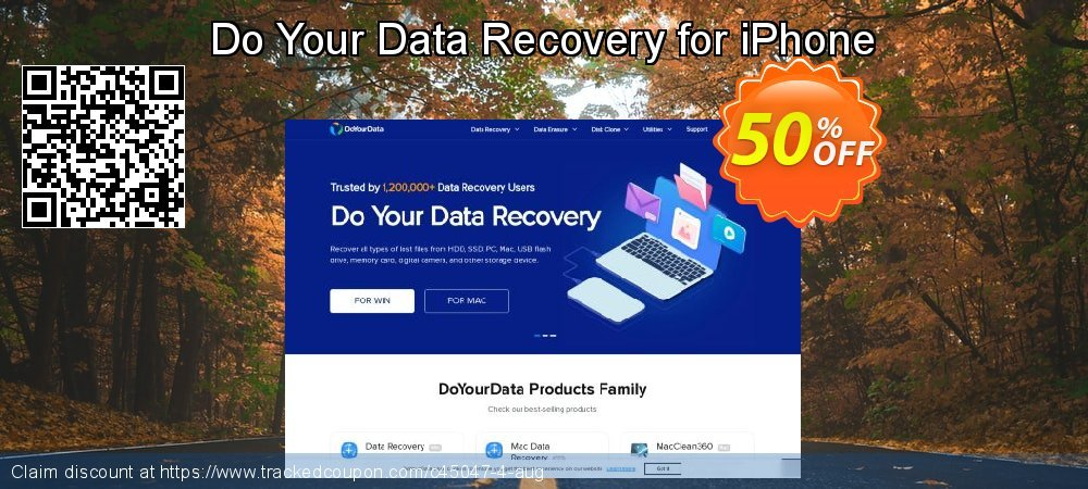 Claim 30% OFF Do Your Data Recovery for iPhone Coupon discount August, 2019