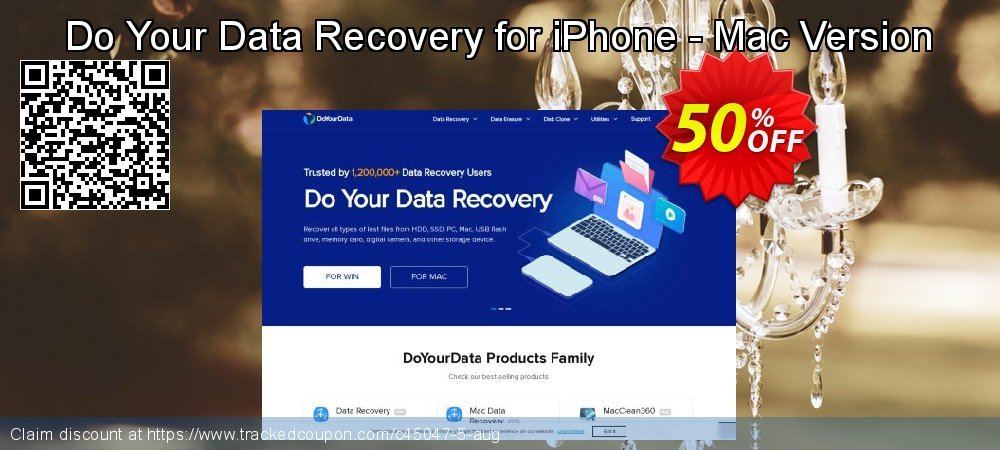 Claim 50% OFF Do Your Data Recovery for iPhone - Mac Version Coupon discount July, 2020