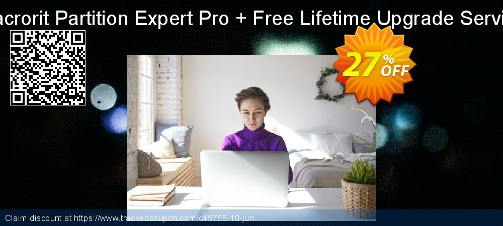 Macrorit Partition Expert Pro + Free Lifetime Upgrade Service coupon on Student deals deals