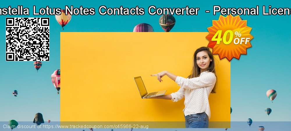 Get 40% OFF Enstella Lotus Notes Contacts Converter - Personal License offering sales