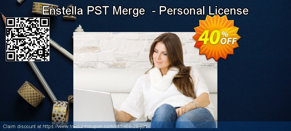 Get 40% OFF Enstella PST Merge - Personal License discounts