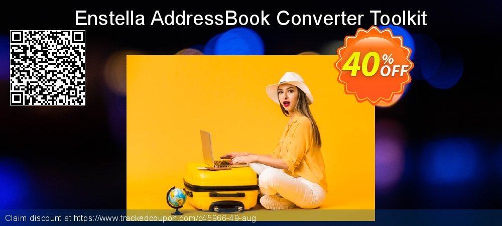 Enstella AddressBook Converter Toolkit coupon on Easter Sunday discount