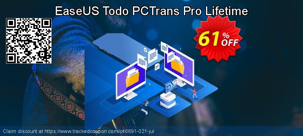 EaseUS Todo PCTrans Pro Lifetime coupon on Father's Day sales