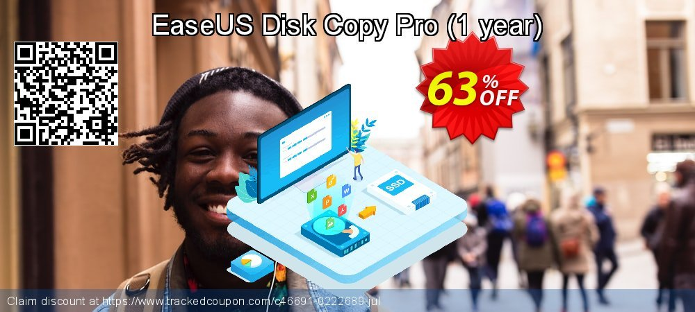 EaseUS Disk Copy Pro - 1 year  coupon on Read Across America Day offer