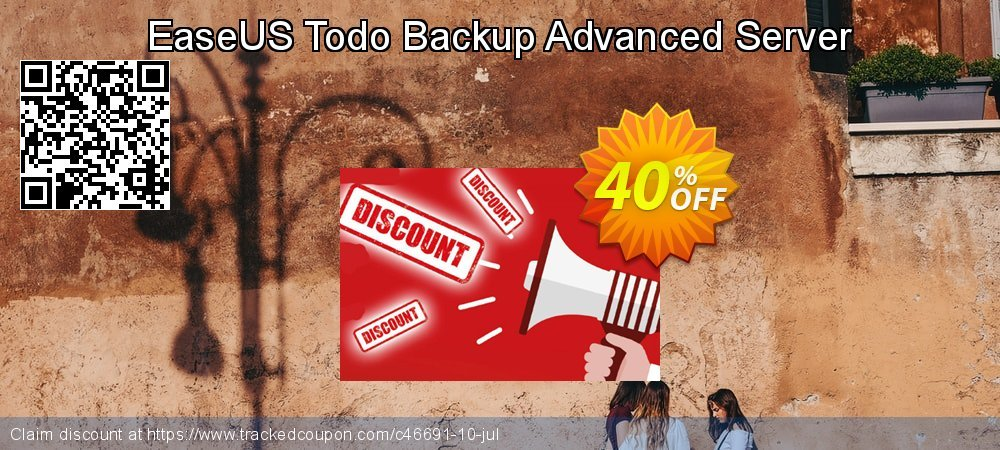 EaseUS Todo Backup Advanced Server coupon on Back to School promo discounts
