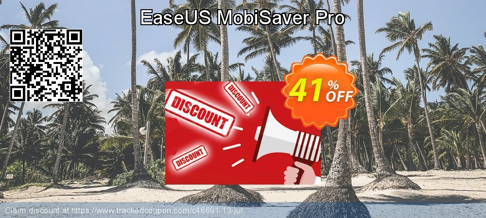 Claim 41% OFF EaseUS MobiSaver Pro Coupon discount October, 2020