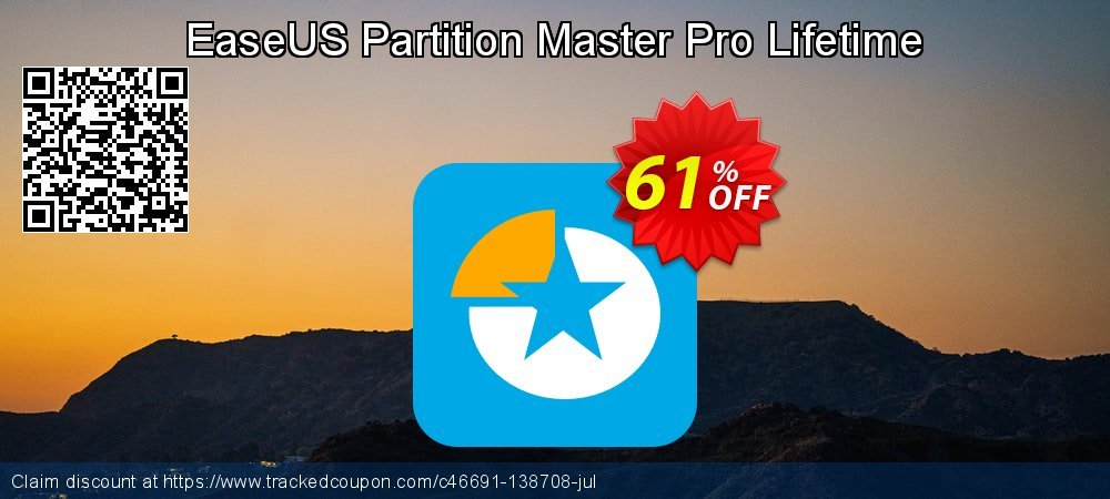 EaseUS Partition Master Pro Lifetime coupon on Valentines Day promotions