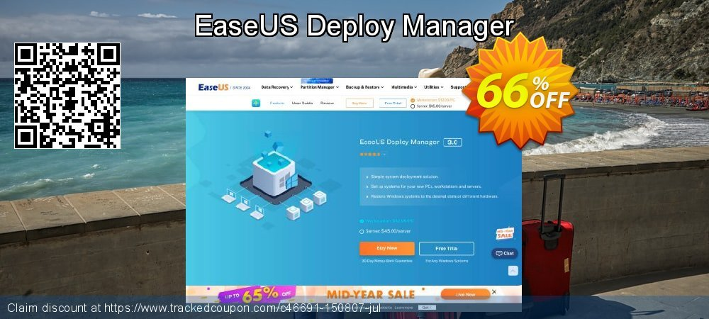 EaseUS Deploy Manager coupon on Super bowl offer