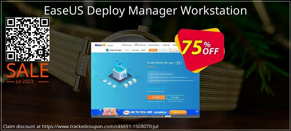 EaseUS Deploy Manager Workstation coupon on Valentine Week offer