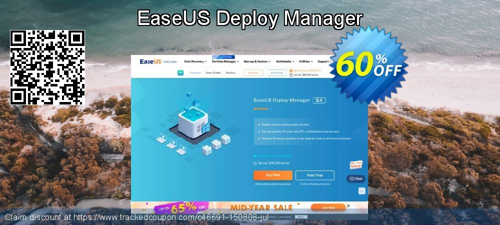 EaseUS Deploy Manager coupon on Valentines Day discount