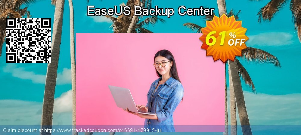 EaseUS Backup Center coupon on Valentine Week offering discount