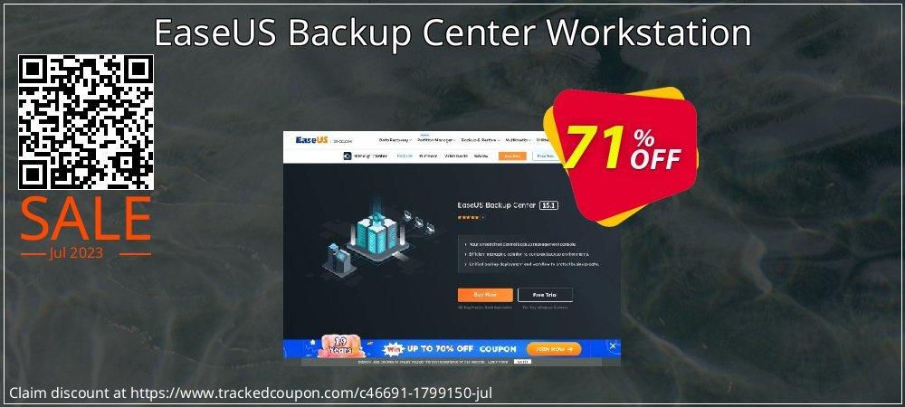EaseUS Backup Center Workstation coupon on Valentine Week offering discount