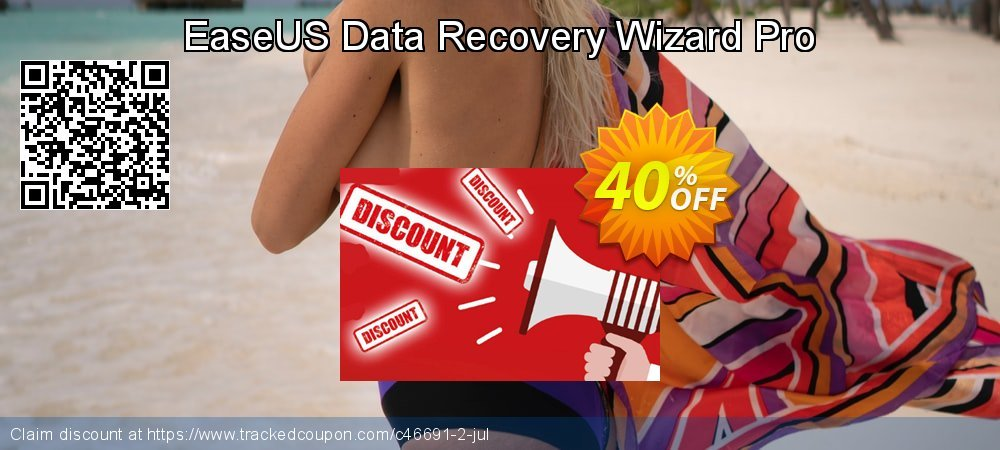 Claim 20% OFF EaseUS Data Recovery Wizard Pro Coupon discount August, 2019