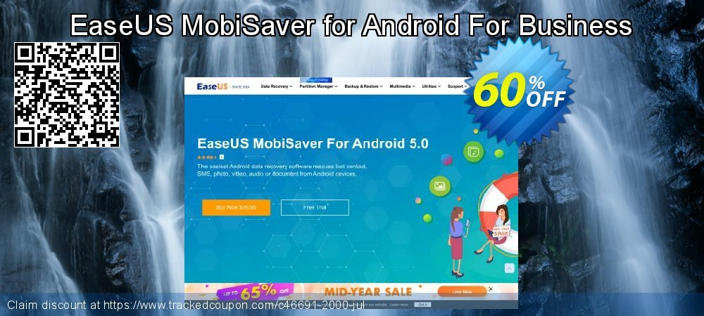 Claim 40% OFF EaseUS MobiSaver for Android For Business Coupon discount October, 2020
