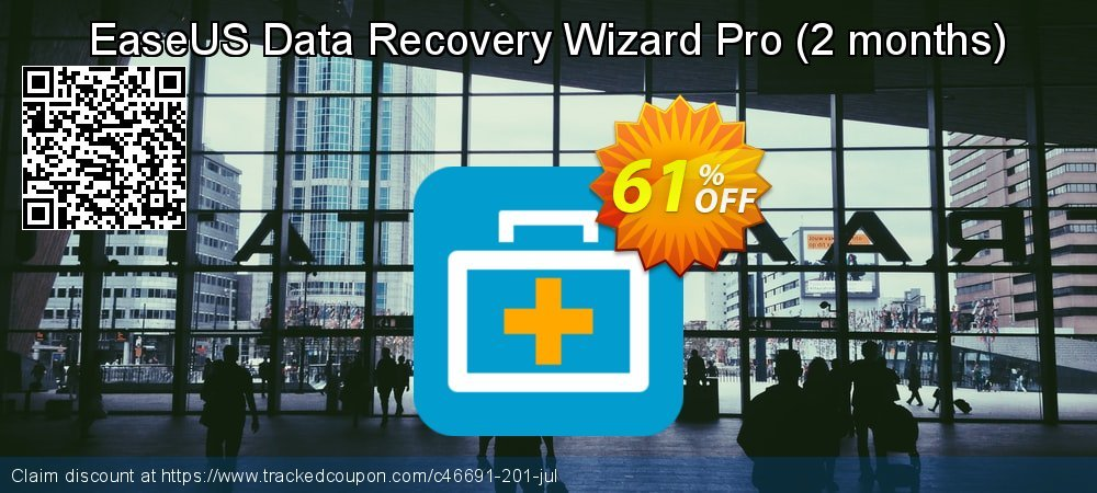 EaseUS Data Recovery Wizard Pro - 2 months  coupon on  Lover's Day offer