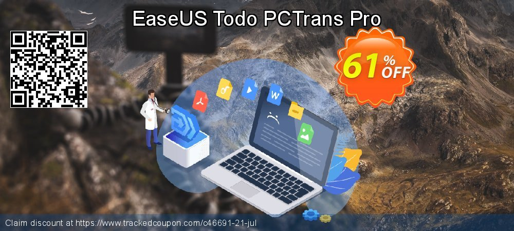 EaseUS Todo PCTrans Pro coupon on New Year's Day deals