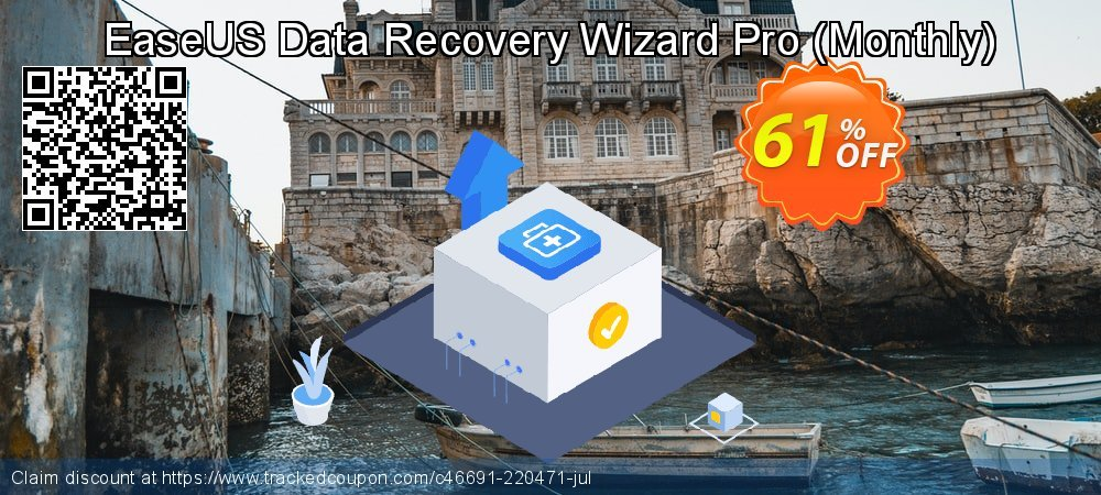 EaseUS Data Recovery Wizard Pro - Monthly  coupon on Int'l. Women's Day discounts