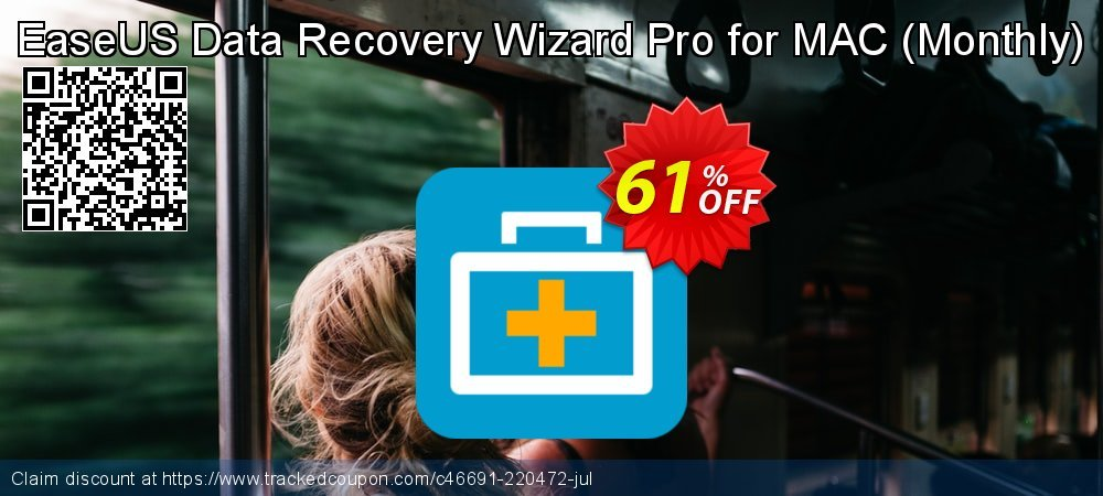 Claim 51% OFF EaseUS Data Recovery Wizard Pro for MAC - 1 month Coupon discount February, 2020