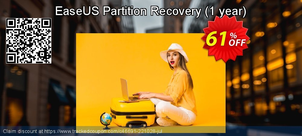 EaseUS Partition Recovery - 1 year  coupon on Valentines Day offering sales