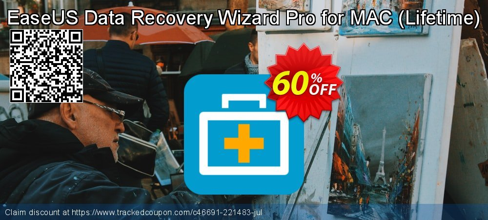 Claim 50% OFF EaseUS Data Recovery Wizard Pro for MAC - Lifetime Coupon discount October, 2020