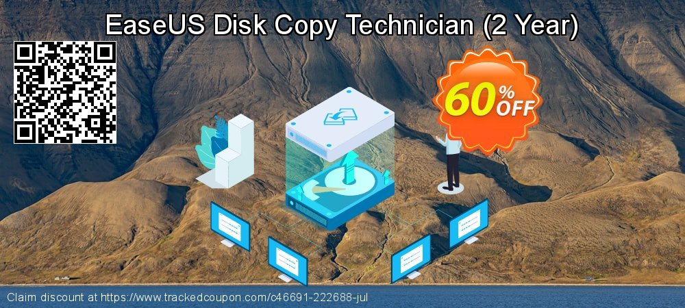 EaseUS Disk Copy Technician - 2 Year  coupon on Int'l. Women's Day deals