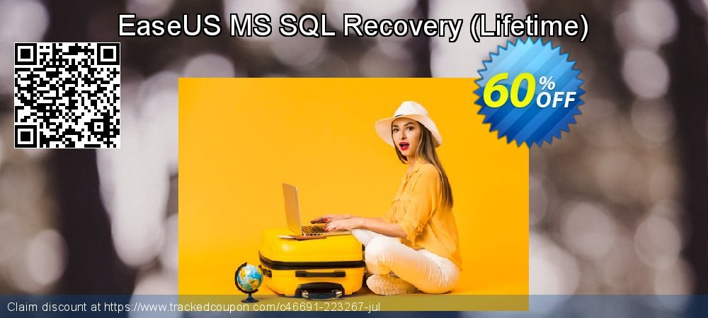 EaseUS MS SQL Recovery - Lifetime  coupon on Black Friday discount