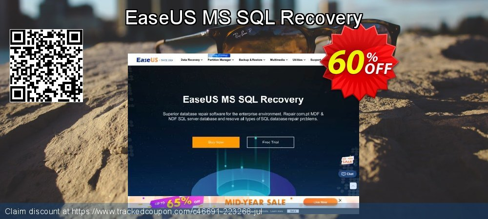 Claim 40% OFF EaseUS MS SQL Recovery Coupon discount October, 2020
