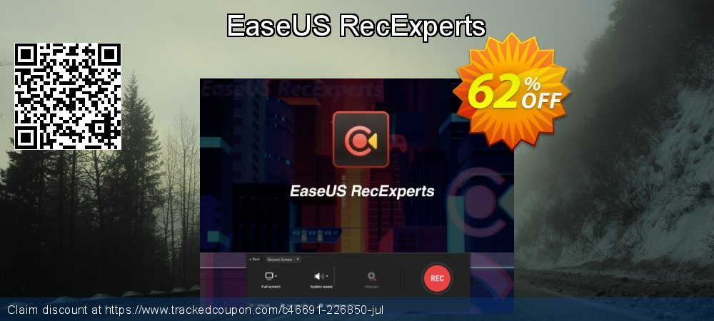 EaseUS RecExperts coupon on Read Across America Day offering sales