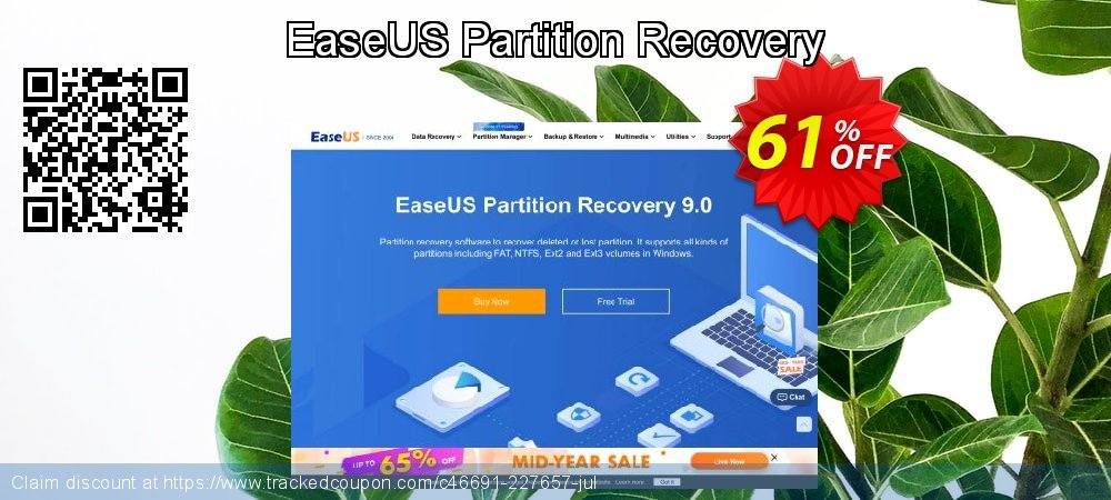 EaseUS Partition Recovery coupon on Super bowl deals