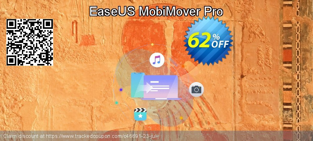 EaseUS MobiMover Pro coupon on April Fool's Day offering sales