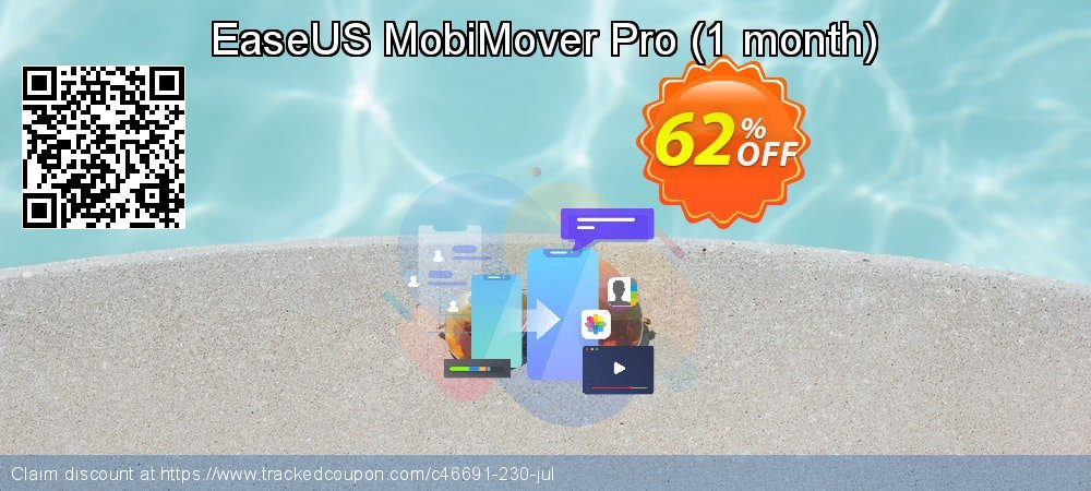 EaseUS MobiMover Pro - 1 month  coupon on Valentine Week offering discount