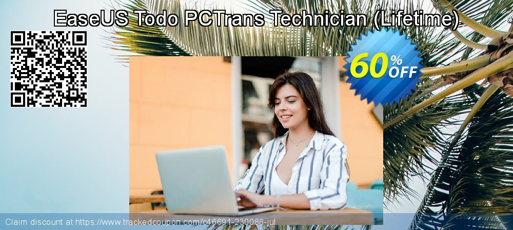 EaseUS Todo PCTrans Technician - Lifetime  coupon on Natl. Doctors' Day discount