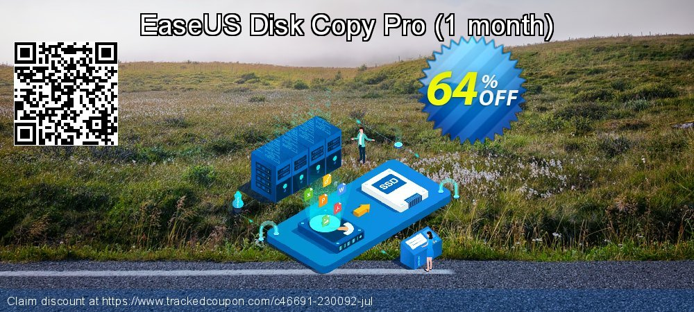 EaseUS Disk Copy Pro - 1 month  coupon on Super bowl super sale