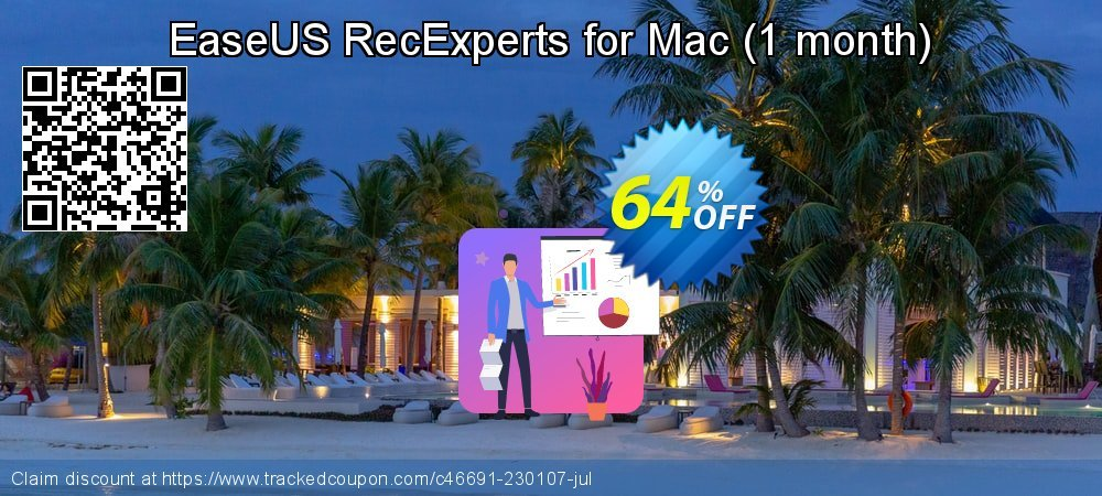 EaseUS RecExperts for Mac - 1 month  coupon on Int'l. Women's Day offering discount
