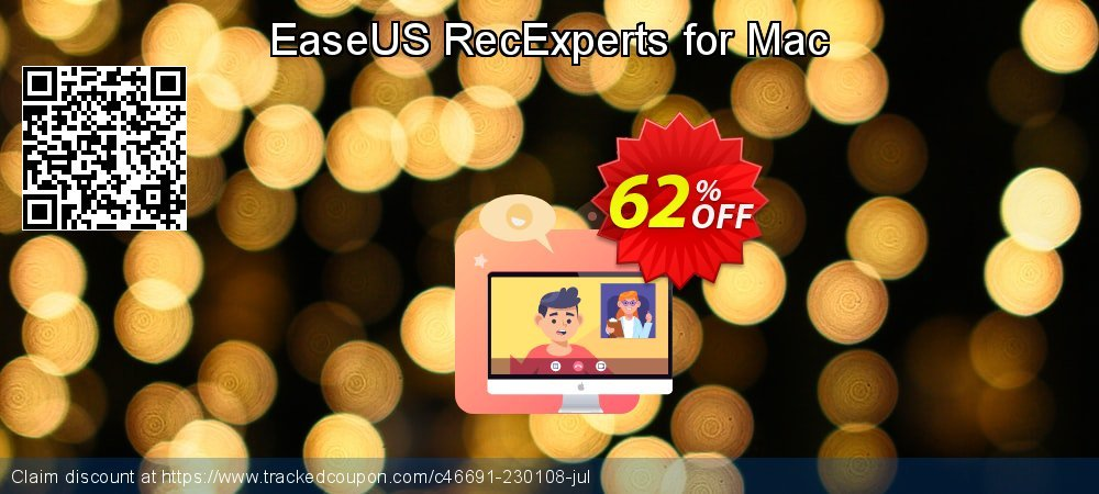 EaseUS RecExperts for Mac coupon on Valentines Day offering discount