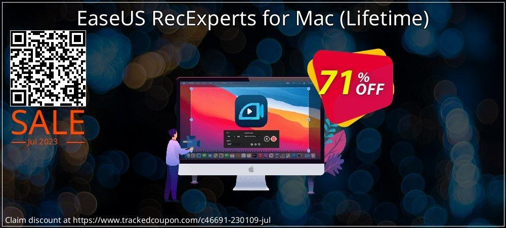 EaseUS RecExperts for Mac - Lifetime  coupon on Natl. Doctors' Day super sale