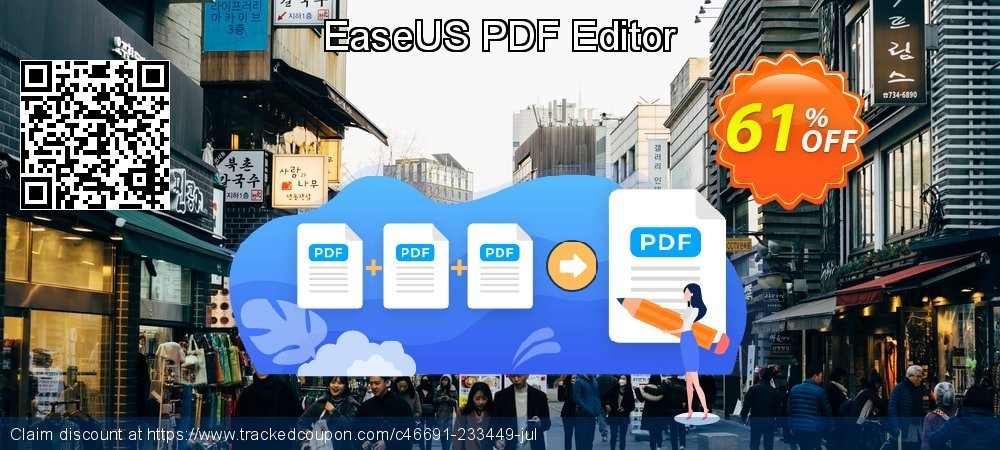 EaseUS PDF Editor coupon on World Oceans Day deals