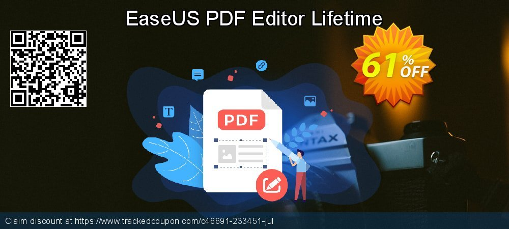 EaseUS PDF Editor Lifetime coupon on World Day of Music discount
