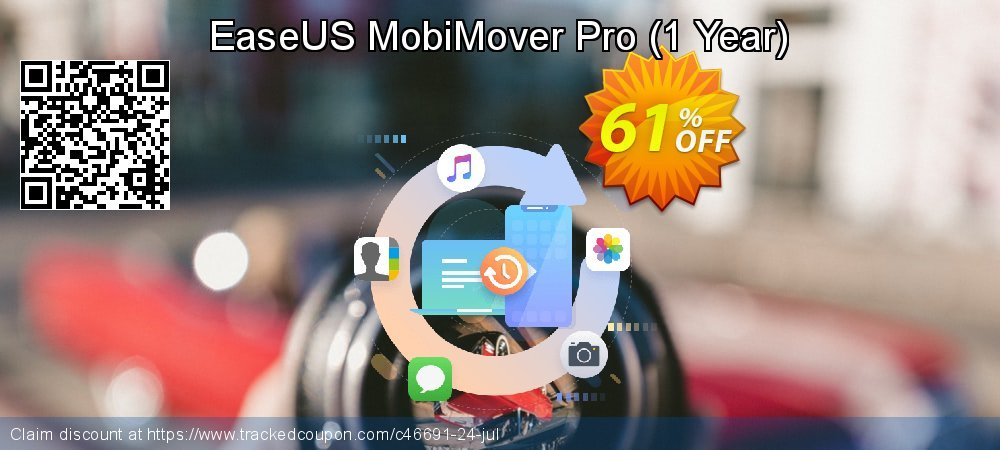 EaseUS MobiMover Pro - 1 Year  coupon on New Year offering discount