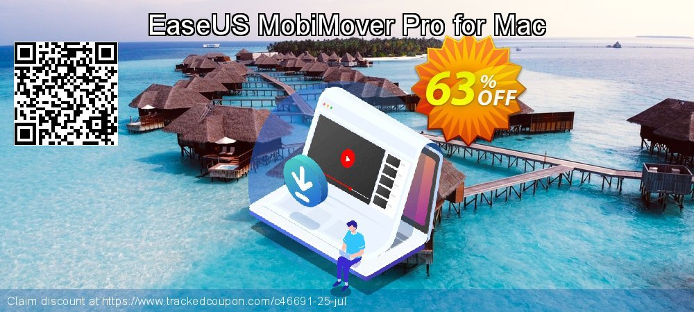 EaseUS MobiMover Pro for Mac coupon on New Year's Day offering sales